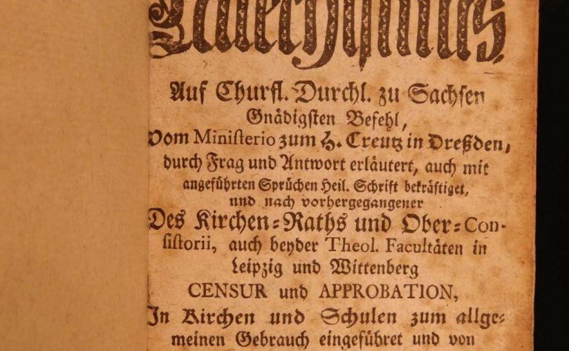 Micul Catehism al lui Martin Luther | Biserica Protestantă Evanghelică