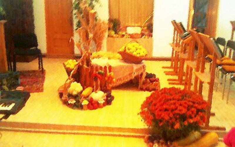 Duminica Mulțumirii pentru roadele pământului, predică rev. Leontiuc Marius | Biserica Protestantă Evanghelică