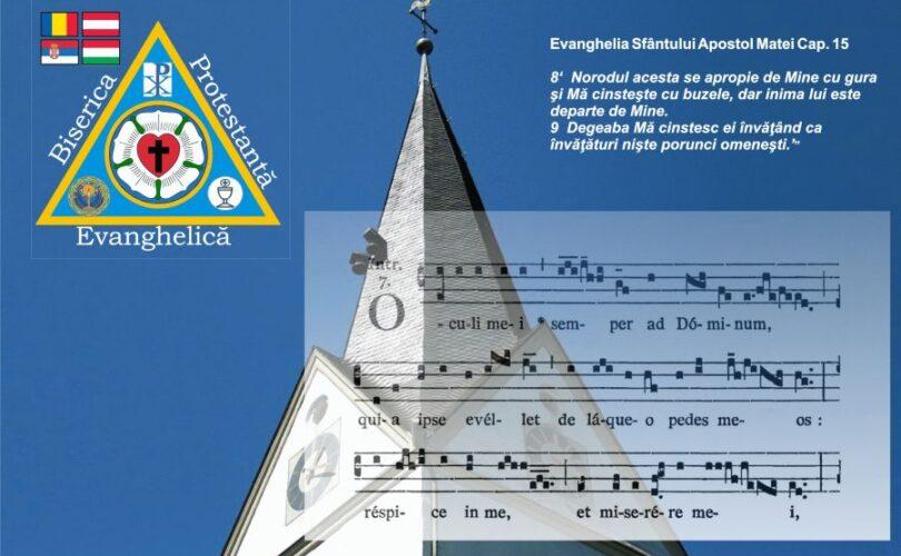 Duminica Oculi, 7 Martie 2021 - predică rev. Leontiuc Marius | Biserica Protestantă Evanghelică