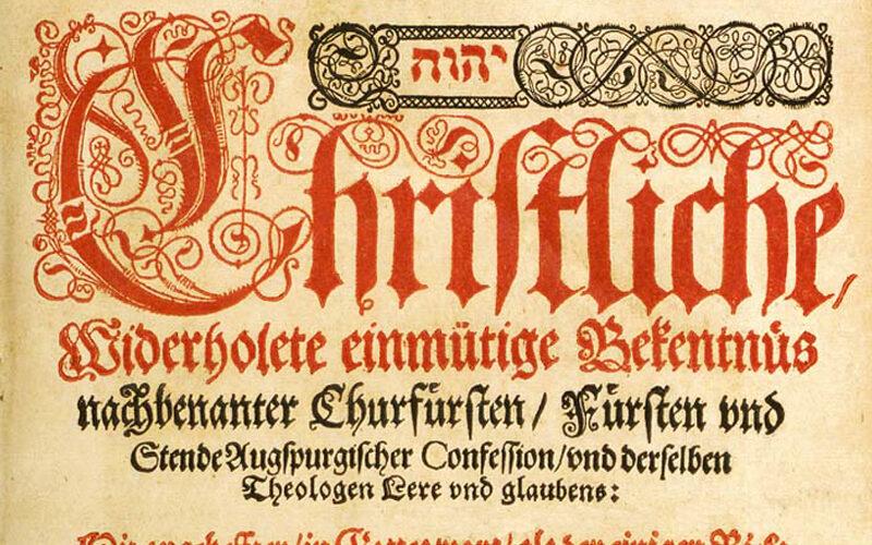 Articolele lui Luther de la Schmalkalden | Biserica Protestantă Evanghelică