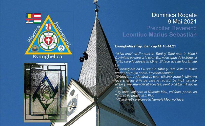 Duminica Rogate 9 mai 2021 | Biserica Protestantă Evanghelică