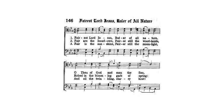 Domn Divin Isus (Fairest Lord Jesus) un imn de Jan Hus | Biserica Protestantă Evanghelică